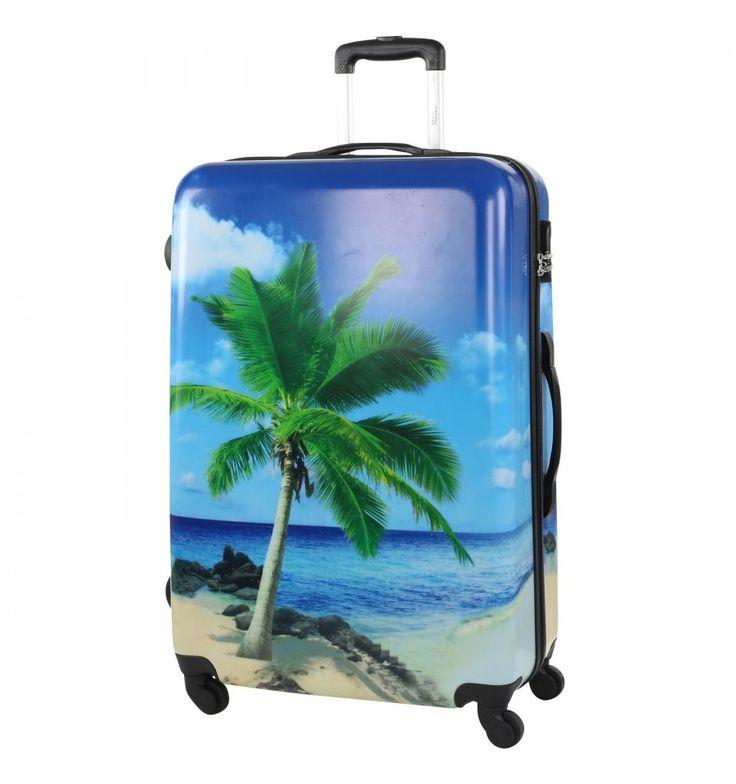 Kuffert med palme