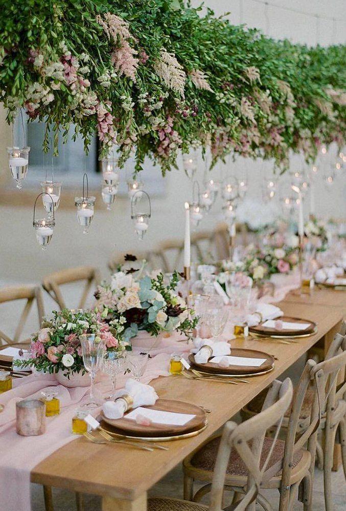 21 Chic Wedding Flower Decor Ideas ❤ simply chic wedding flower decor ideas greeneru and flower decor sposarmi it #weddingforward #wedding #bride