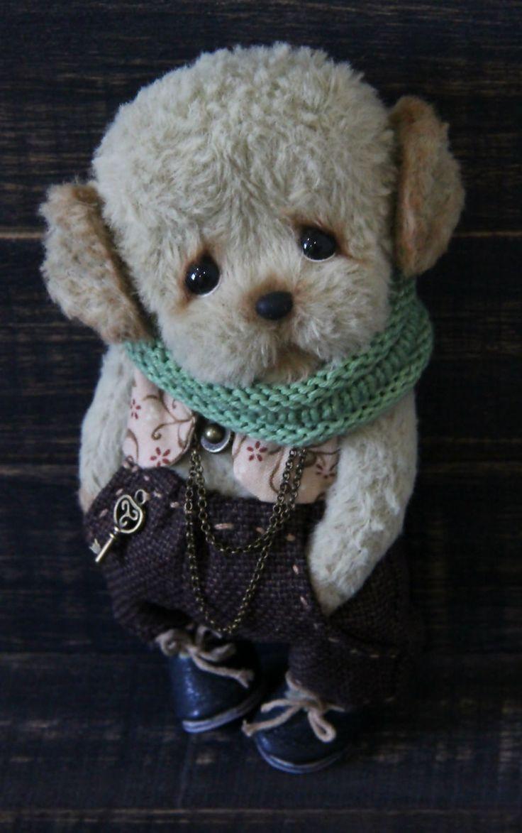 Teddy Puppy Phil   Тедди щенок Фил — Купить, заказать, игрушка, декор, интерьер, щенок, собака, тедди