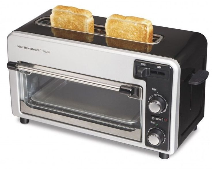 Counter Top Toaster Oven Small Appliances Space Saving Kitchen Baking Pan New
