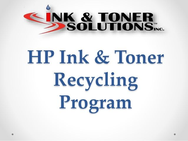 #Printer_Shop HP has had a recycling program for electronic hardware since 1987 and has recovered over 2.3 billion pounds of product that are reused or recycled. Our hats are off to HP for this effort due to the serious effects E-waste has had globally. http://www.slideshare.net/JesiKa3/hp-ink-amp-toner-recycling-program