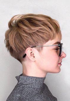 Undercut kurzhaarschnitte Kurze Haare