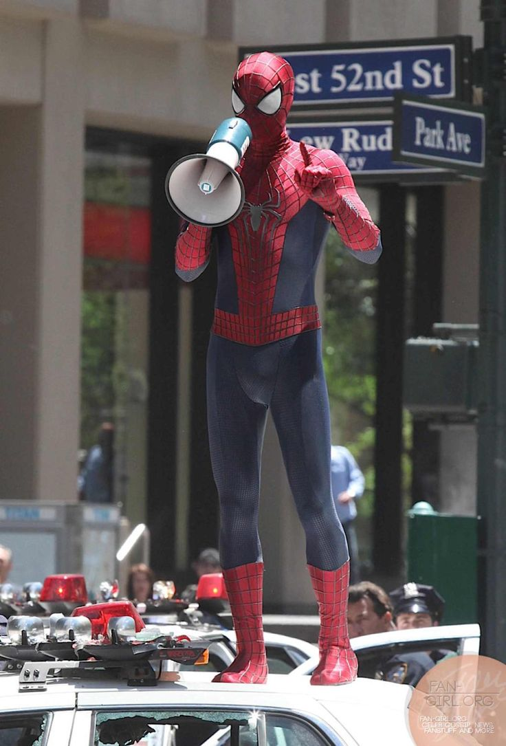 THE AMAZING SPIDER-MAN 2 Set Images