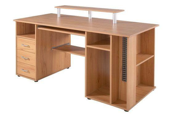 """Schreibtisch """"Baku"""", mit Tastaturauszug, Schildmeyer"""