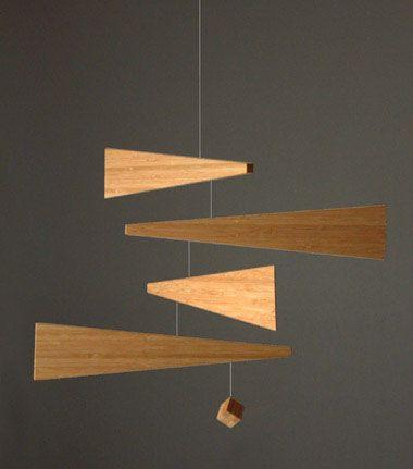 Modern Design - Design Blog about Modern Furniture Design: Modern Art Ceiling Mobile -- designed by Riki Watanabe