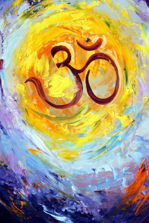 """""""Hari Om! Om, the word, is all this, the whole universe. A clear explanation of it is as follows: All that is past, present and future is, indeed, Om. And whatever else there is, beyond the threefold division of time—that also is truly Om.""""  — Mandukya Upanishad"""