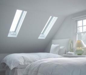 Белая спальня для двоих