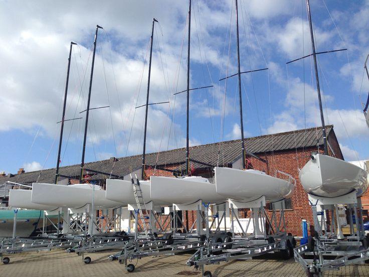 J/80 Fleet in Cowes
