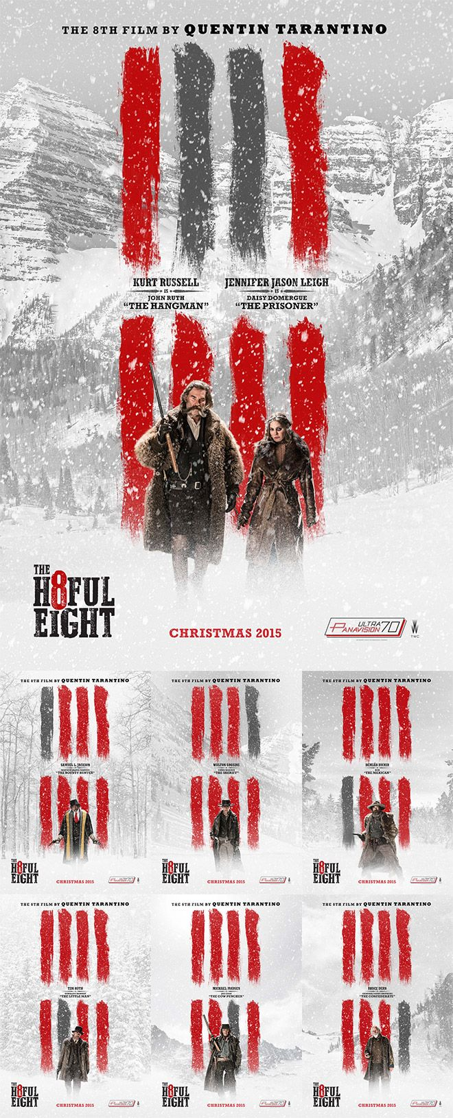 Poster design tutorial - How To Create Your Own Hateful Eight Movie Poster Design
