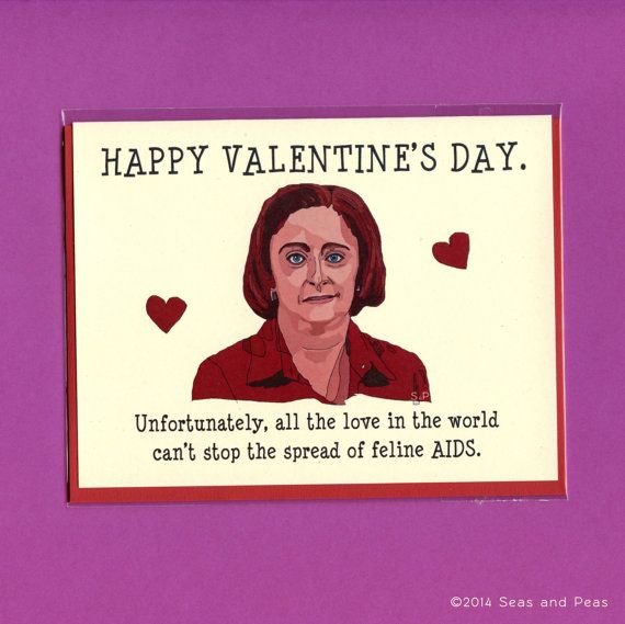 "Debbie Downer ""SNL"" Valentine's Day Card"