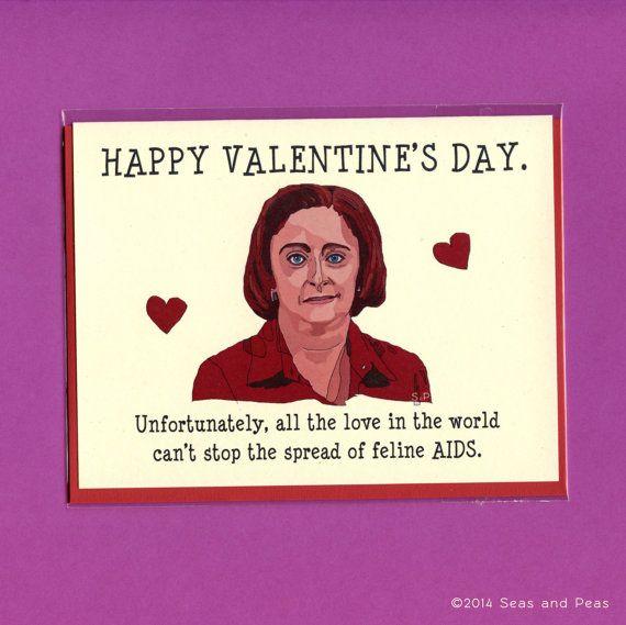 DEBBIE DOWNER VALENTINE   Funny Valentine's Day by seasandpeas, $4.25