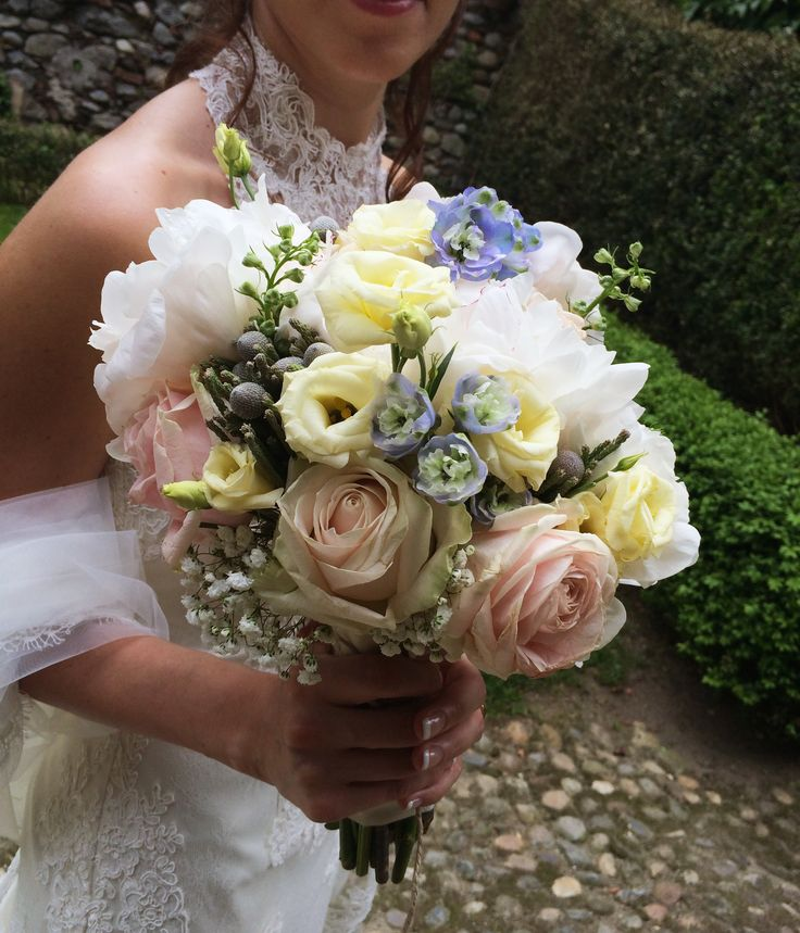 bouquet country chic