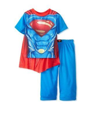 59% OFF Kid's Superman 2-Piece Pajama Set with Cape (Blue)