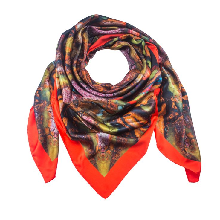 Spica 1 - Silk Scarf - Celestial Collections – Silk and Stone