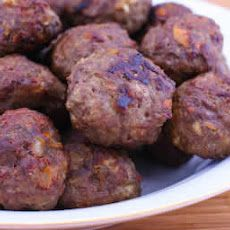 Alison made these: Oven-Baked Swedish Meatballs