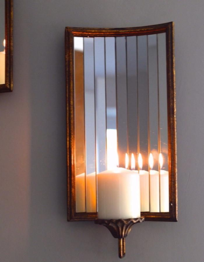 Venetian Wall Candle Holder - The Forest & Co.