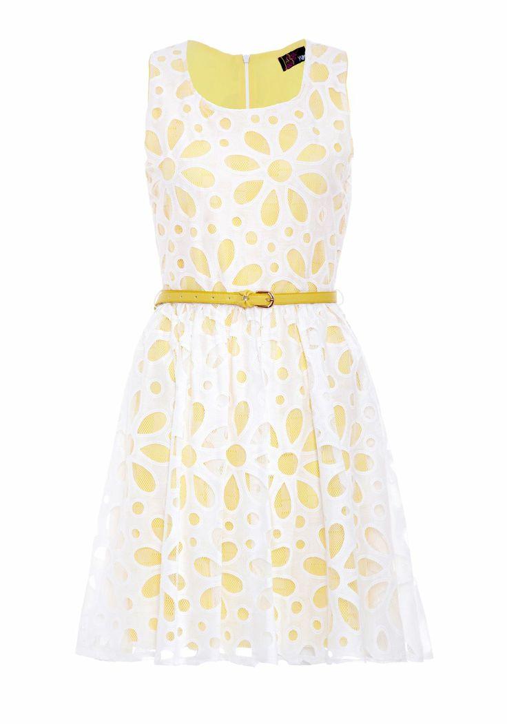 Daisy Cut-Out Sun Dress