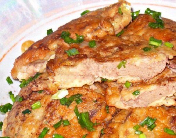 Картинки по запросу куриная печень в кляре