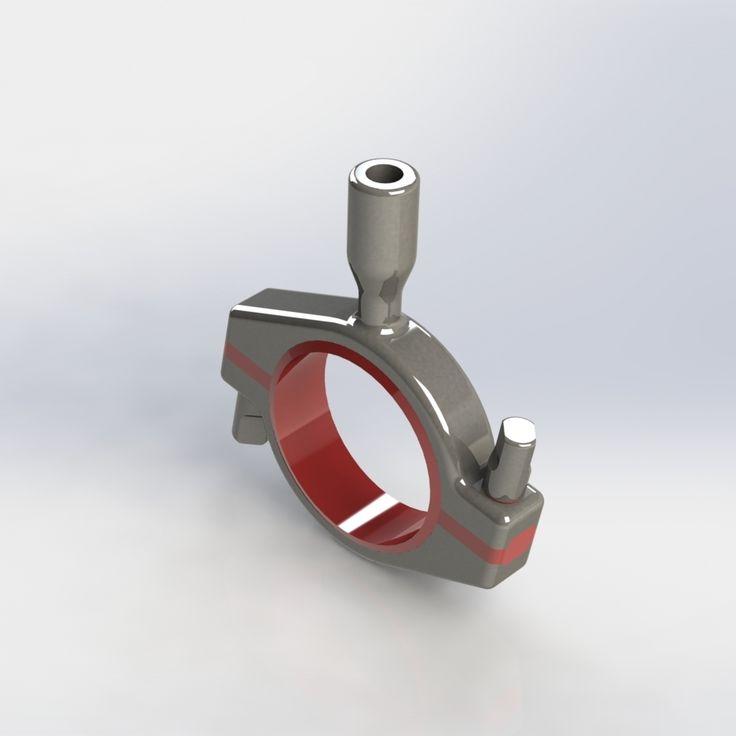Pendura hygienic pipe supports