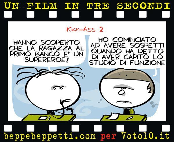 Beppe Beppetti - Un film in 3 secondi: Kick-Ass 2.