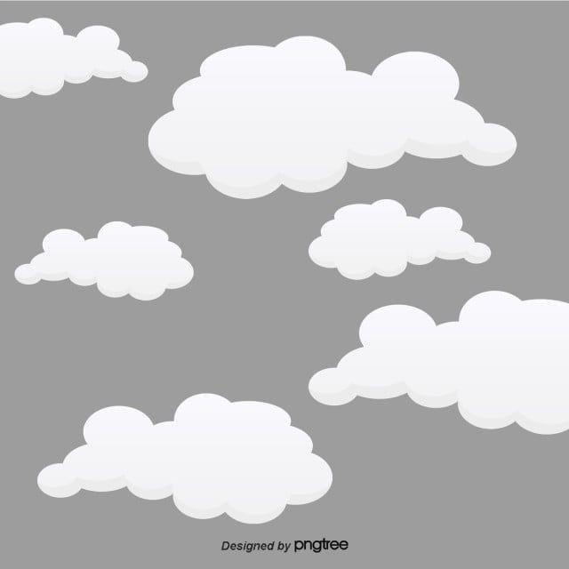 Belas Nuvens Brancas Bonita Baiyun Nuvens Imagem Png E Psd Para Download Gratuito Black And White Clouds Cloud Illustration Cloud Drawing