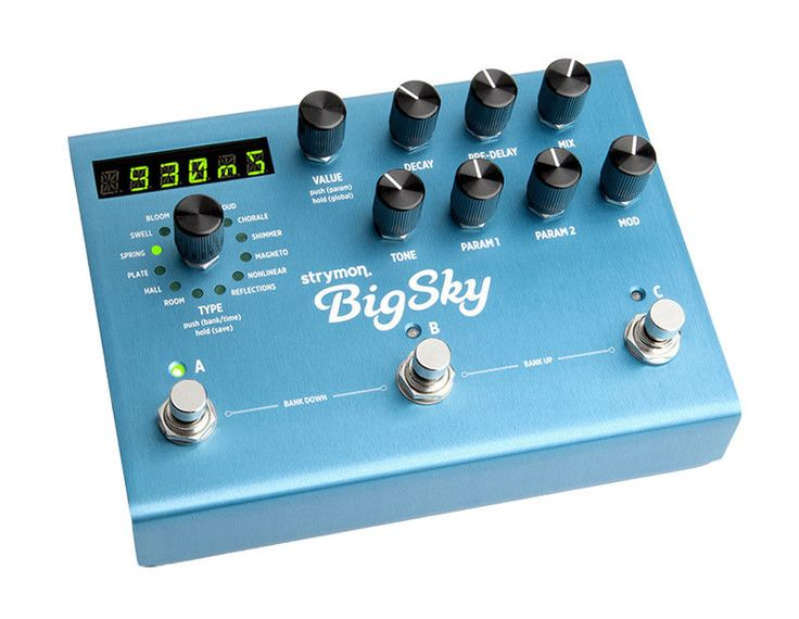 Strymon knew they had to take reverb to a whole new level. This fusion of science with art has just one goal. To provide you with the most musically inspirational reverb experiences possible. Strymon Big Sky Reverb Effects Pedal Main Features. | eBay!