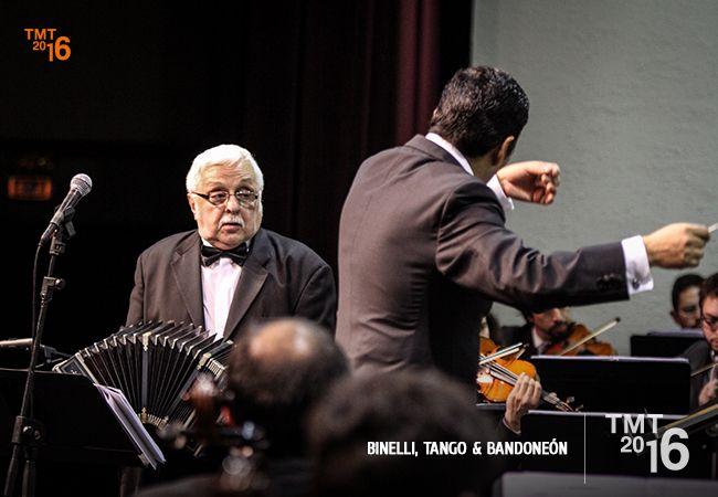 Teatro Municipal Temuco, Daniel Binelli, Bandoneón, OFT 2016