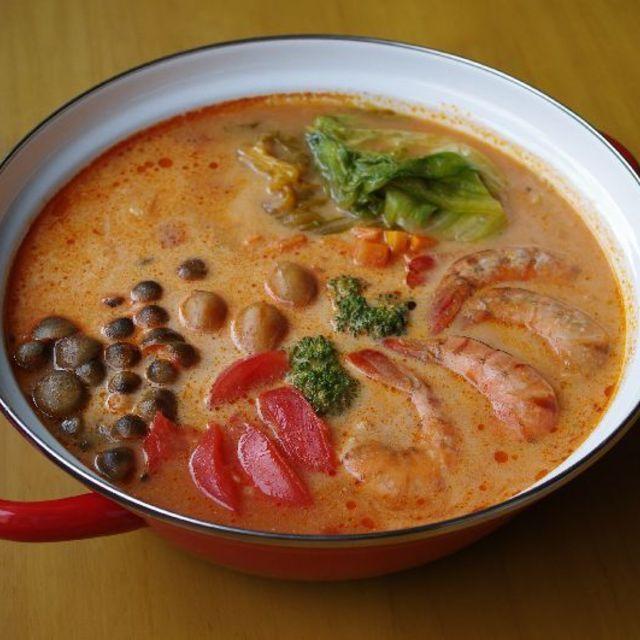 トマトクリーム鍋