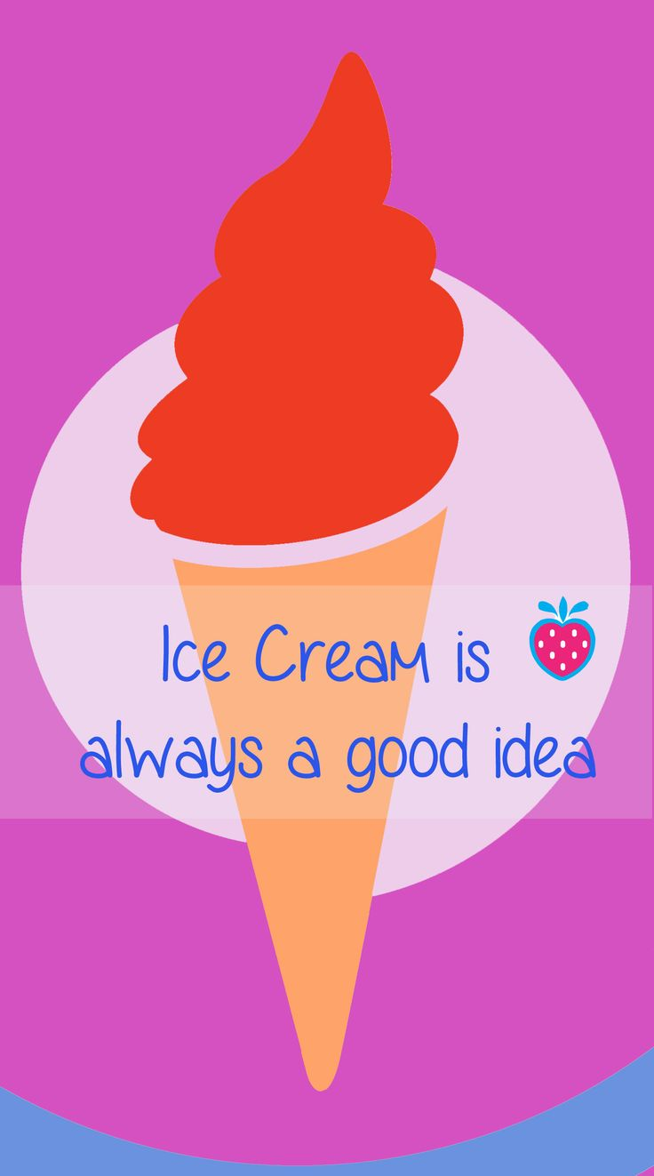 Free printable! Icre cream is always a good idea!