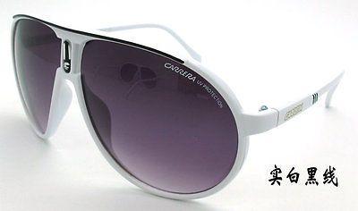 Fashion Men & Women's Retro Sunglasses Unisex Matte Frame Carrera Glasses  Box