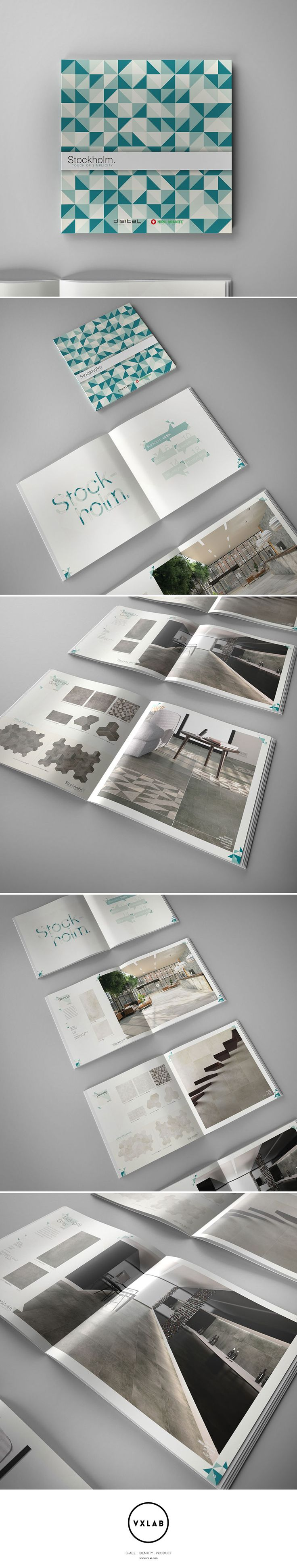 Stockholm Collection Catalogue for Niro Granite. Design by VXLAB Branding & Design Direction www.vxlab.org