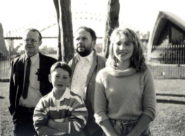 Anita Hegh and family