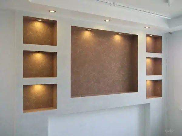 ديكور جبس جدران صالات 2020 Decor Home Decor Wall Lights