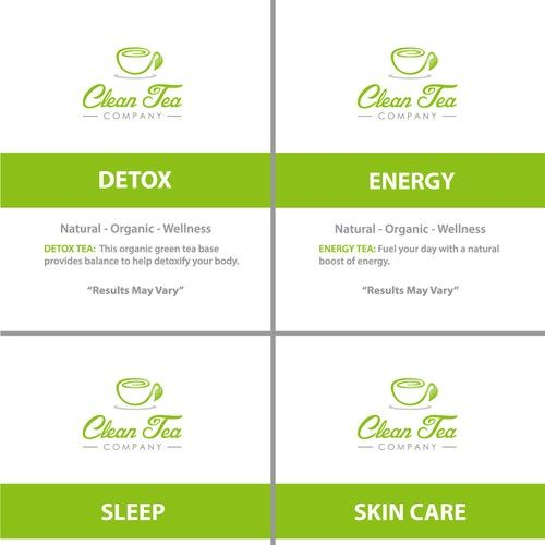 Clean Tea Co. or Clean Tea Company 鈥?20Need Logo for New Company.