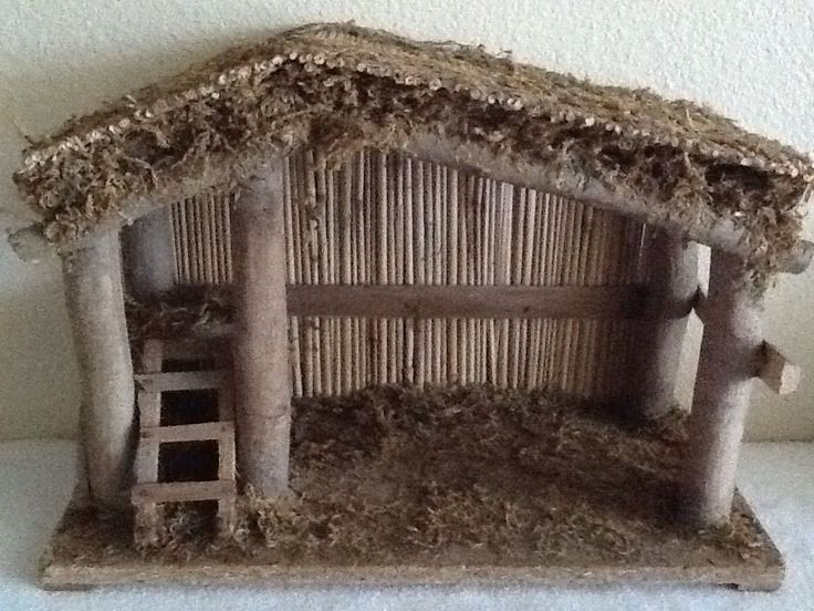 17 Best Ideas About Nativity Stable On Pinterest Nativity Stable Christmas Crib Ideas Christmas Manger
