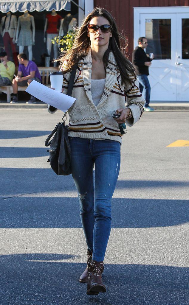 model chic from celebrity street style street styles