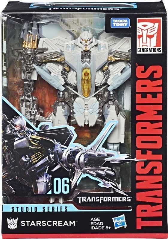 R 27 TRANSFORMERS combiner wars SKYWARP Leader Class NIB