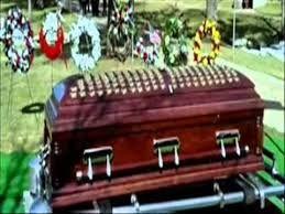 Chris Kyle, funeral casket