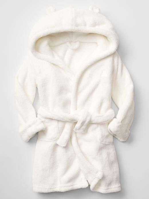 Fleece bear robe | Gap