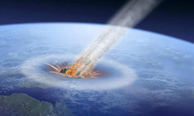 Risultati immagini per Comet may have struck Earth just 10 million years after dinosaur extinction