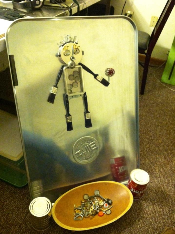 oil drip pan magnets misc metal objects robot - Drip Pans