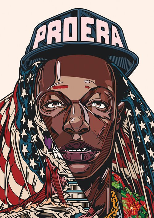 PRINT : UNORTHODOXY on Behance Joey Badass ProEra. RUD CEF
