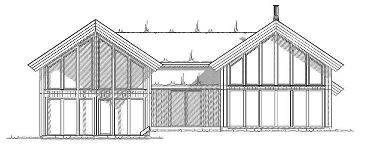 Fasade Sør - V2