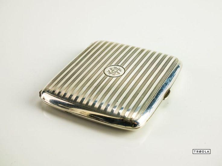 Zigarettenetui Silber 800er Zigarettenbox Silver Cigarette case