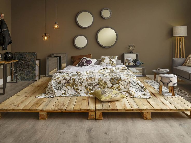 696 Best Pallet Beds Headboards Images On Pinterest