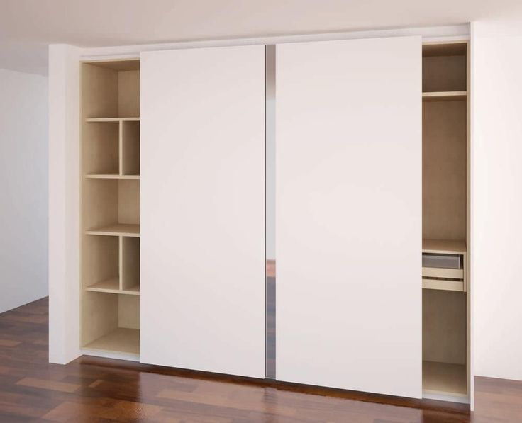 Indoor door / sliding / manual / with mirror Sense - Slidding Door Mini Closet BSD - The Best Solution Design