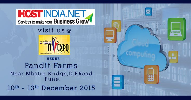 Meet our team at #ITEXPO2015 #Pune and find out how our services can help you grow your #Business
