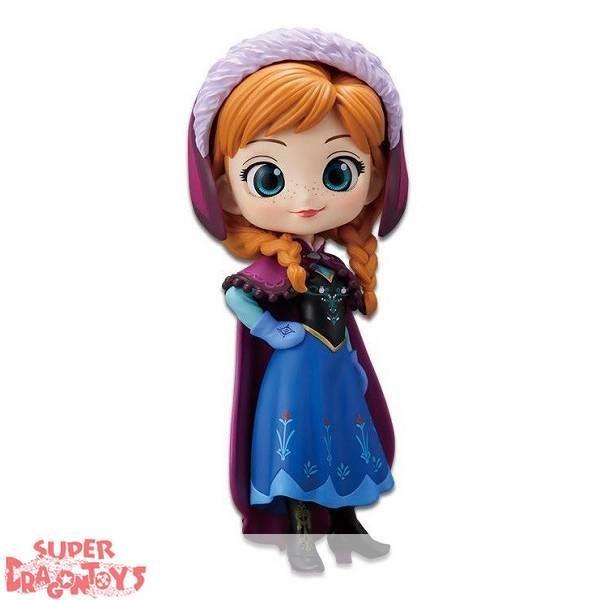 Q posket Disney Character Anna Elsa Frozen Fever Design Figure 2 Set Qposket