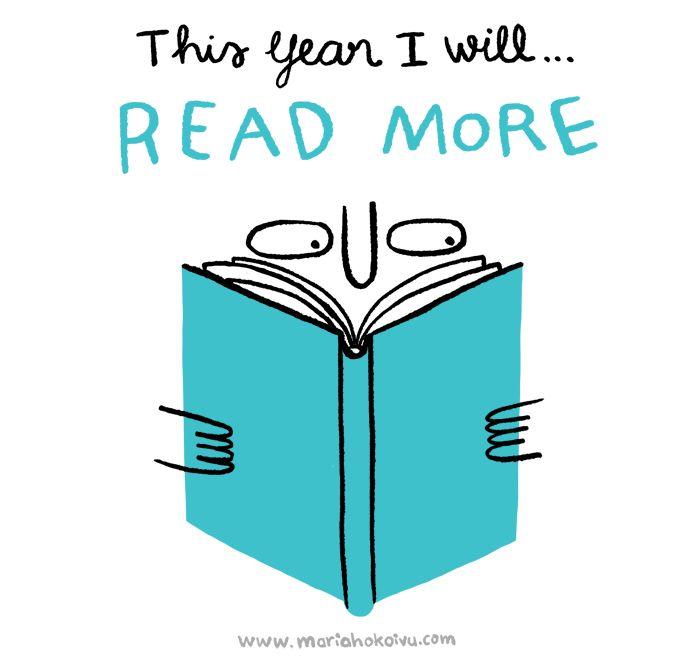 New year resolutions by Mari Ahokoivu