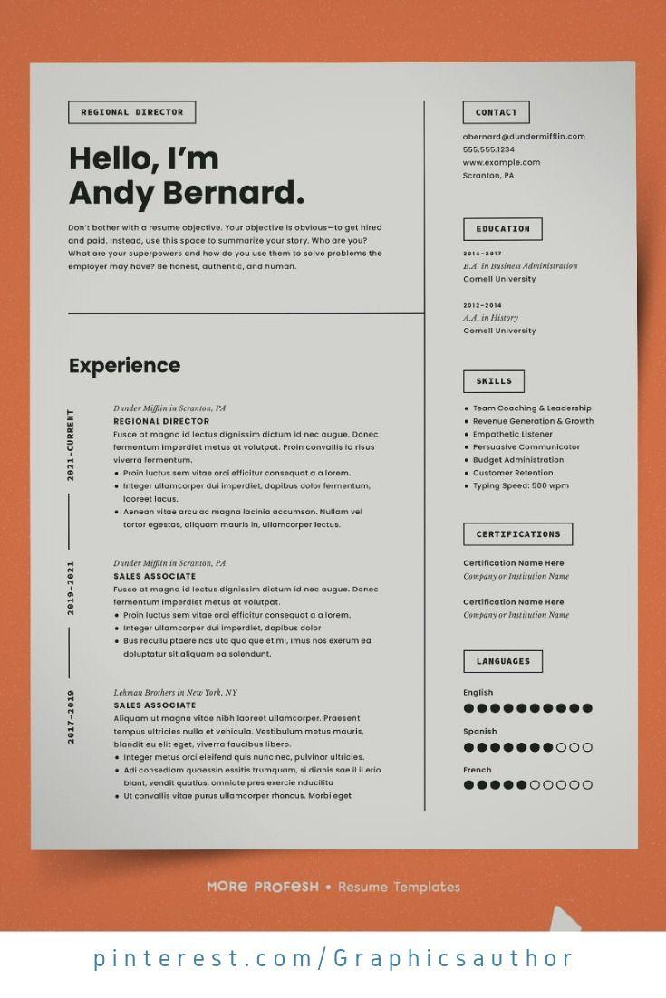 Modern Resume Template Cv Cover Letter For Resume Cv Template Word Modern Resume Template